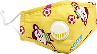 Children's Reusable Mouth and Nose Cover Kids Breathable...