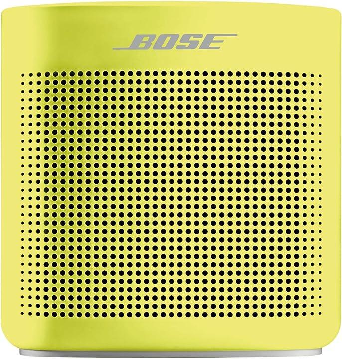 Diffusore soundlink color bluetooth ii, cedro giallo 752195-0900