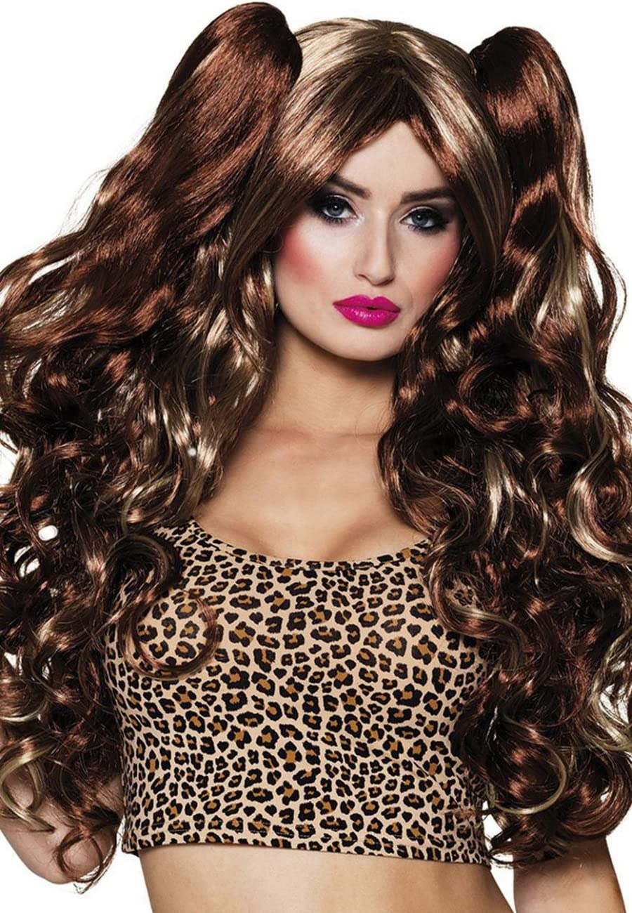 Boland 10116764 BOL85813 Direct sale of manufacturer Women's Shaded Removabl Nikkie with Wig Great interest