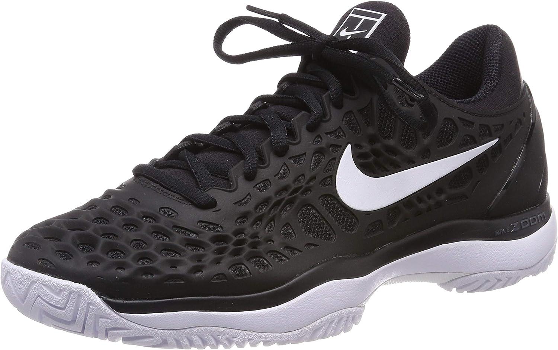 NIKE Men's Zoom Cage 3 Tennis shoes (Black, 13 D(M) US)