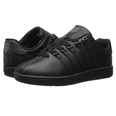 K-Swiss Classic VNtm (Little Kid) (Black/Black) Athletic Shoes