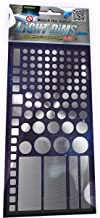 LightDims Silver Edition - Light Diming LED Covers/Light Diming Sheets voor Metallic, Aluminium Gekleurde Elektronica en A...