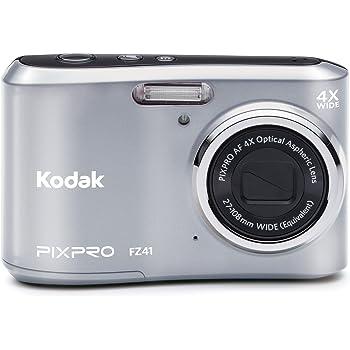 Purple VanGoddy Semi Hard EVA Carrying Case for Kodak PixPro Friendly Zoom FZ51 FZ41 Digital Cameras and Screen Protector