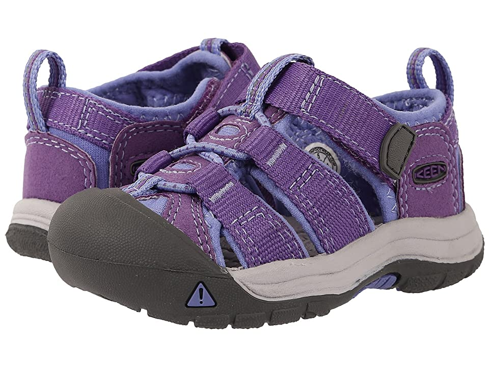 Keen Kids Newport H2 (Toddler) (Purple Heart/Periwinkle (Prior Season)) Girls Shoes