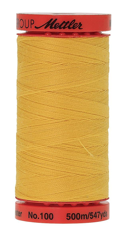 Mettler Metrosene Old Number 1145-0500 Poly Thread, 500m/547 yd, Summersun