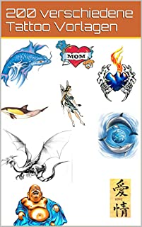 200 verschiedene Tattoo Vorlagen