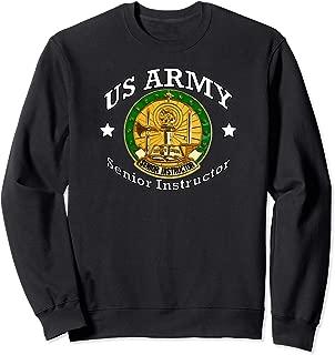 Army Senior Instructor Badge Shield Sweatshirt