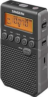 Sangean, Pocket 800, DT-800, Pocket Radio, Black