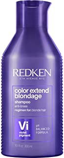 Redken Color Extend Blondage Color Depositing Purple Shampoo For Blonde Hair |Hair Toner For Blonde & Color Treated Hair |Neutralizes Brassy Tones In Blonde Hair |With Citric Acid |Packaging May Vary