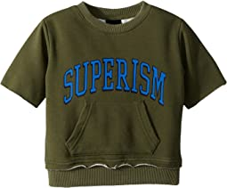 Atticus Short Sleeve Fleece Sweatshirt (Toddler/Little Kids/Big Kids)