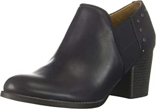SOUL Naturalizer Women's Tristin Ankle Boot, Navy, 9.5 W US