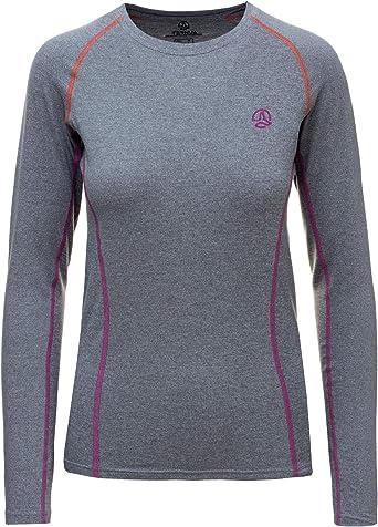 Ternua ® Camiseta Alma LS W Camiseta para Mujer Mujer