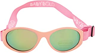 Baby Solo Original 2.0 Baby Sunglasses Safe, Soft, Super Adjustable and Adorable 0-36 months