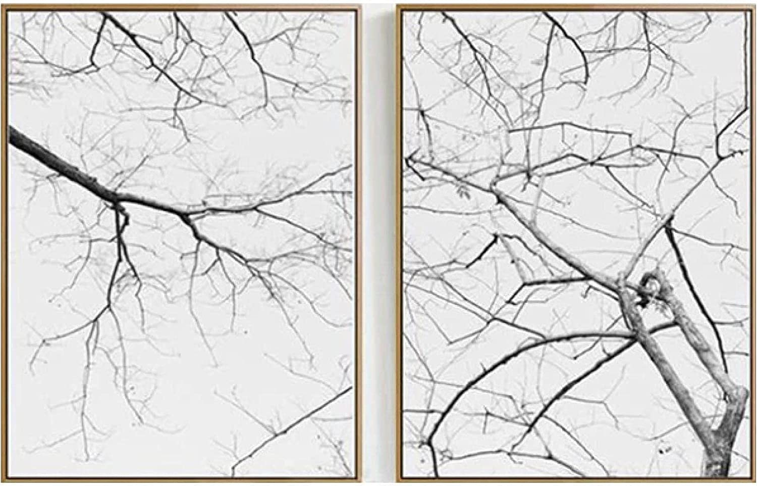 Bargain sale ZJRLY Beautiful Painting 2 Easy-to-use Piece 15.7x23.6in No A 40x60cm Frame