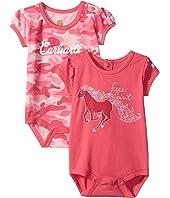 Carhartt Kids - Short Sleeve 2-Fer Bodyshirt (Infant)