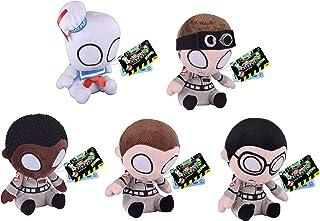 "Ghostbusters Funko Mopeez 10cm 3"" Plush Soft Toy Set of 5 - Stay Puft, Venkman, Zeddmore, Spengler & Stantz"