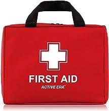 Hoogwaardige EHBO-tas met 220 items - inclusief oogspoeling, 2 coldpacks en nooddekens voor thuis, op kantoor, in de auto ...