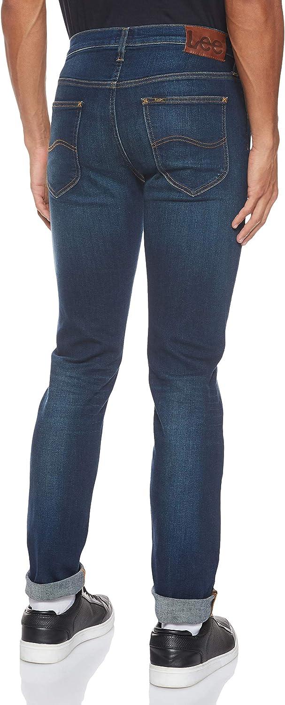 Lee Herren Daren Straight Jeans Bleu (Bright Blue Kigy)