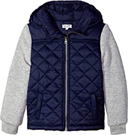 Jacket Puff with Hood (Little Kids/Big Kids)