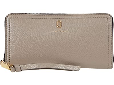 Marc Jacobs Standard Continental Wallet (Cement) Wallet Handbags