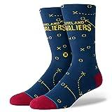 Stance Herren Cavaliers Playbook Socken, Navy, L