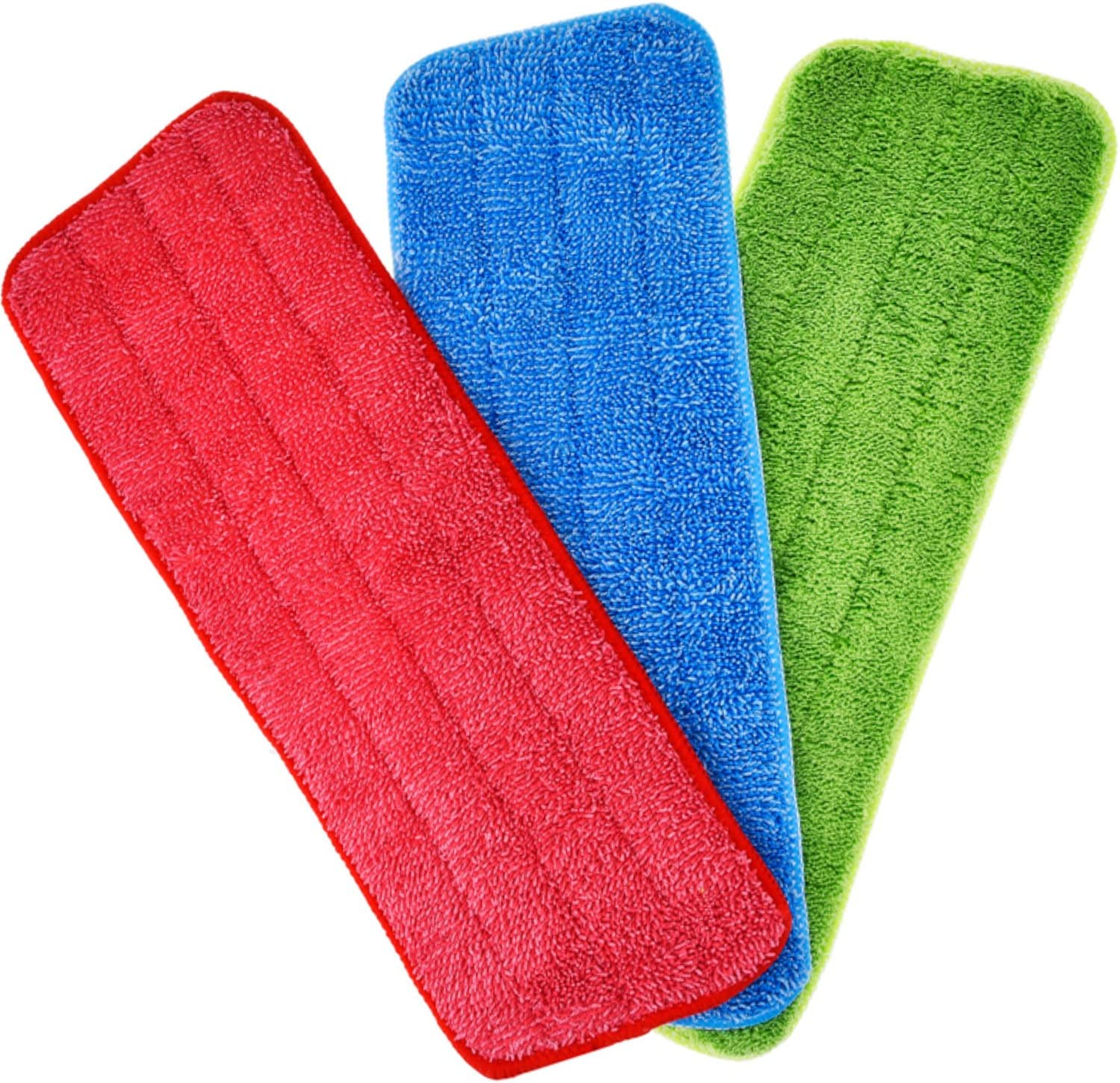 Shappy 3 Pieces 100% quality warranty! Mop Microfiber Ranking TOP16 Heads Cleaning f Replacement Pads