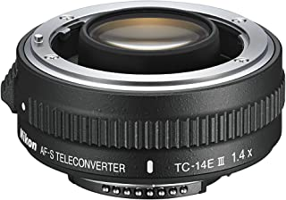 Nikon TC-14E III (1.4x) AF-S Teleconverter TC-14E III (1.4x), color Negro