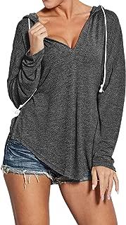 Best deep v neck sweatshirt Reviews