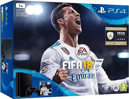 Sony, PlayStation 4 (PS4) - Consola de 1 TB + FIFA 18