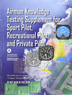 AIRMAN KNOWLEDGE TESTING SUPPLEMENT FOR SPORT PILOT, RECREATIONAL PILOT, AND PRIVATE PILOT [FAA-CT-8080-2F]