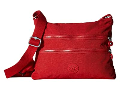 Kipling Alvar Crossbody Bag (Cherry T) Cross Body Handbags