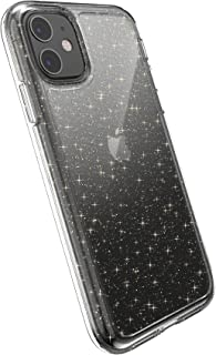 Speck Gemshell Glitter iPhone 11 Case, Clear with Gold Glitter/Clear (128838-5636)