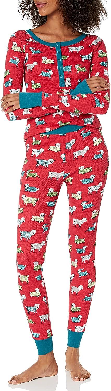 Munki Recommendation Women's Thermal Long Pajama John Set 2021 model