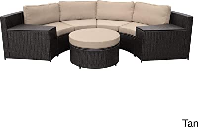 Amazon.com : Gotland 4-Piece Outdoor Furniture Sectional ...