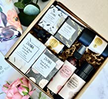 Luxurious Self Care Spa Gifts for Women, All Natural Beauty Kit for Friend Wife Mom Sister, Box Includes Rose Mist, Face...