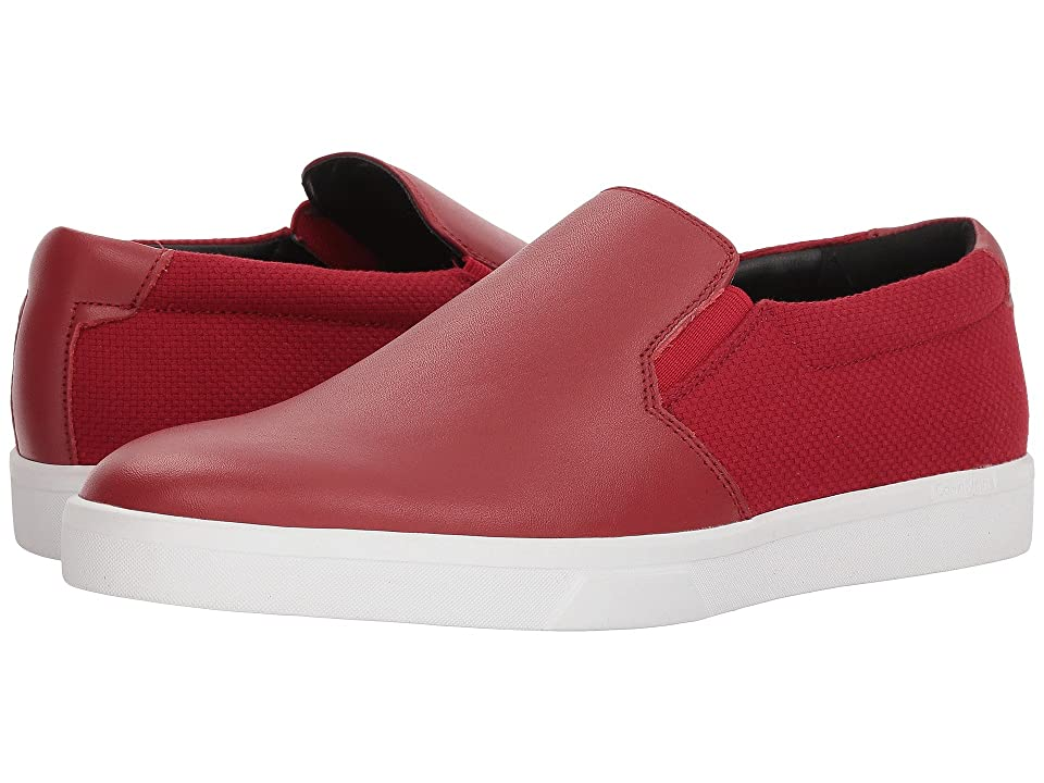 Calvin Klein Ivo (Brick Red Nappa) Men