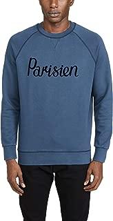 Men's Long Sleeve Sweatshirt with Parisien Print