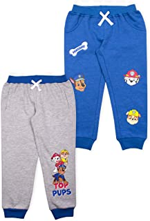 2-Pack Paw Patrol Toddlers and Boys Joggers Pants and Pajamas Set