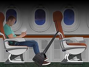 Mind Reader FTPLANE-BLK Rest, Ergonomic Foot, Pressure Relief for Comfort, Back, and Body, Plane, Black