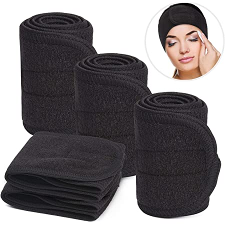 Women Soft Adjustable Towel Hair Wrap Head Band For Make Up Beauty Hair Band R*T