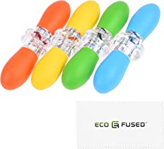 Eco-Fused Corn Holders - 4 Pairs (Orange/Yellow/Blue/Green) - Corn on The Cob Skewers - Large Handle Pin Grips - Interlocking Design - Great for Home Cooking, BBQ, Picnics, Camping and Parties