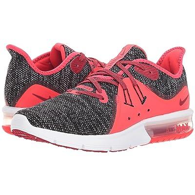 Nike Air Max Sequent 3 (Black/Red Crush/White/Red Orbit) Women