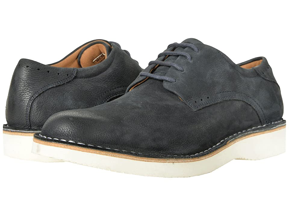 Florsheim Navigator Plain Toe Oxford (Navy Nubuck) Men
