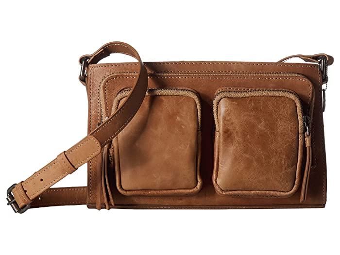 Lucky Brand  Yucca Crossbody (Travertine) Cross Body Handbags