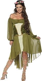 Smiffys Women Fair Maiden Costume - Green
