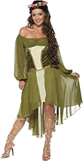 Smiffy's Women Fair Maiden Costume - Green