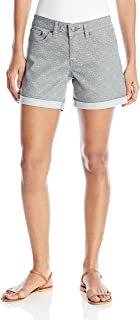 PRANA Women's Kara Denim Short, Silver Spain, Size 2