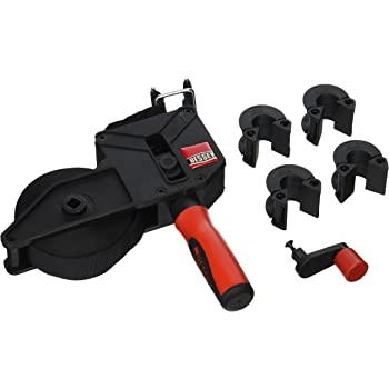 Bessey Tools VAS-23 2K Variable Angle Strap Clamp with 4 Clips,,Black with red handle