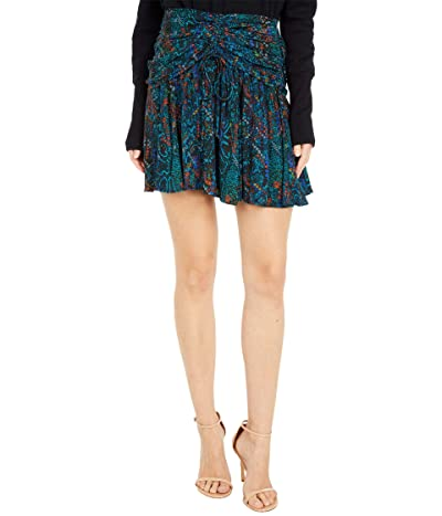 Free People Saturday Sun Mini Skirt (Who Is She Combo) Women