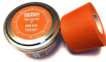 Eucatape Eucalyptus Infused Golf Grip Tape for Men & Women - Sweatproof Tape Heals and Protects from Blisters Cuts Dry Ski...